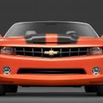 Camaro Orange Front View Wallpaper[0]